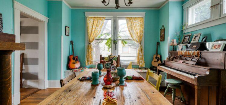 Unique Spaces: Musical Dining Room