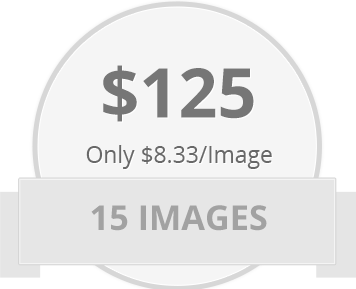 15 Images for only $125