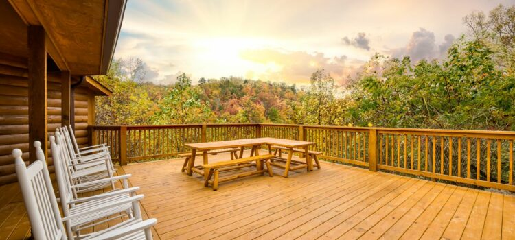 Photographing Vacation Rentals in the Smoky Mountains